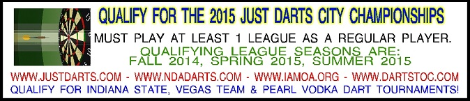 2015 Just Darts City Championships