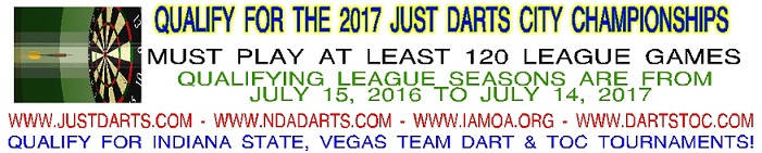 2017 Just Darts City Championships